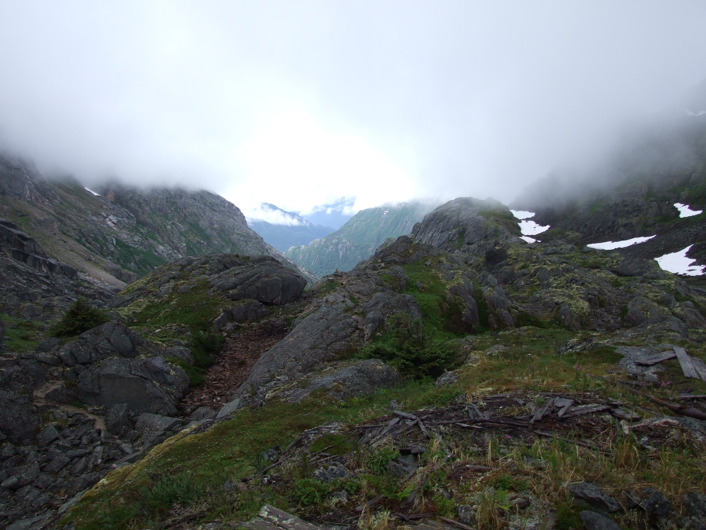 Chilkoot Trail Scales View