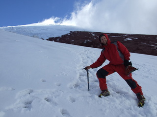 dan practicing glacier travel 320x240