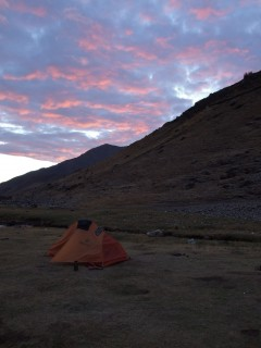 tapuish campsite sunset 240x320