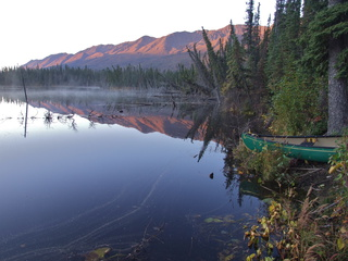 yukon mountain sunrise 320x240